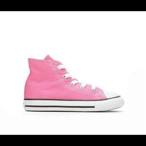 [Converse] Pink High Tops